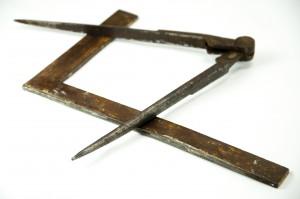 Masonic Symbols, Square and Compass